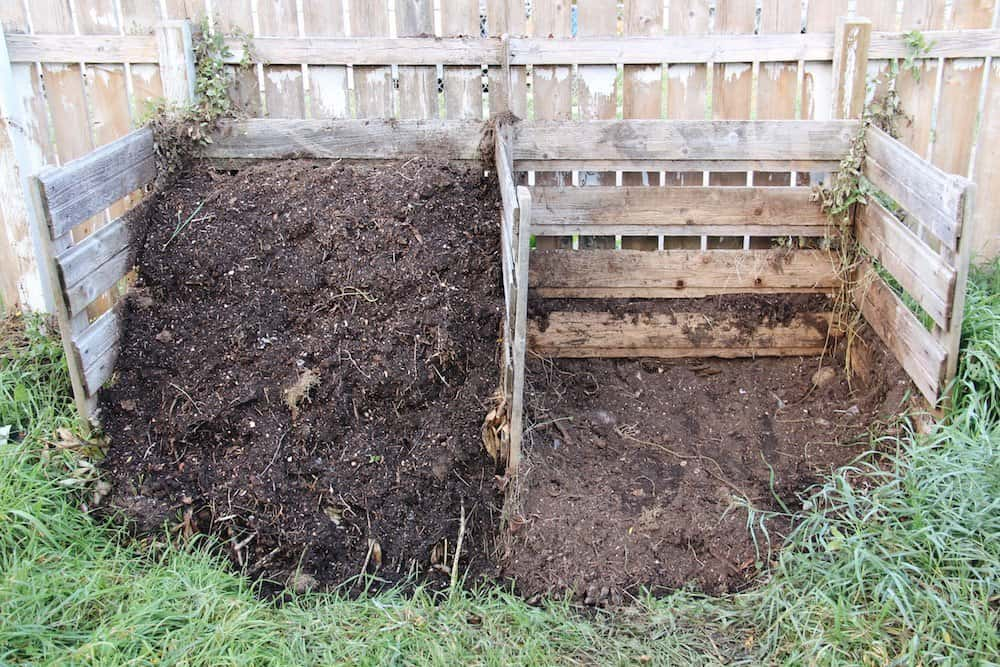 Homemade compost is a wonderful organic garden mulch | Home for the Harvest