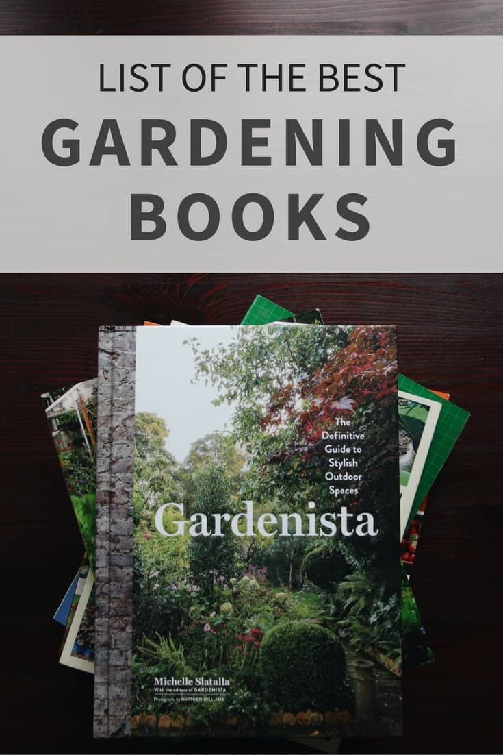 garden library favourites my list of gardening books