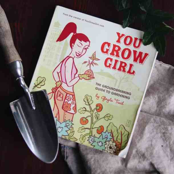 You Grow Girl Book | List of Gardening Books - The Best Ones! | from Home for the Harvest | www.homefortheharvest.com