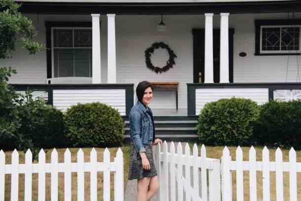Front Porch of Home | Home for the Harvest Gardening Blog