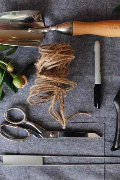 Garden Tools List - Gardening Essential Supplies