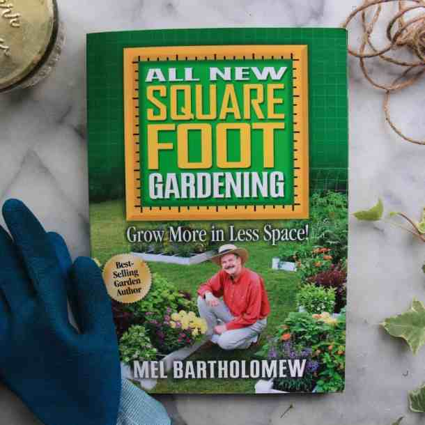 Garden Planning - Using the Square Foot Gardening Book | Home for the Harvest