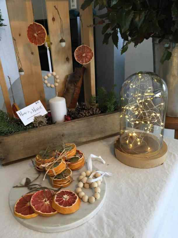 Stained Glass Citrus Ornaments - Grapefruit | Home for the Harvest