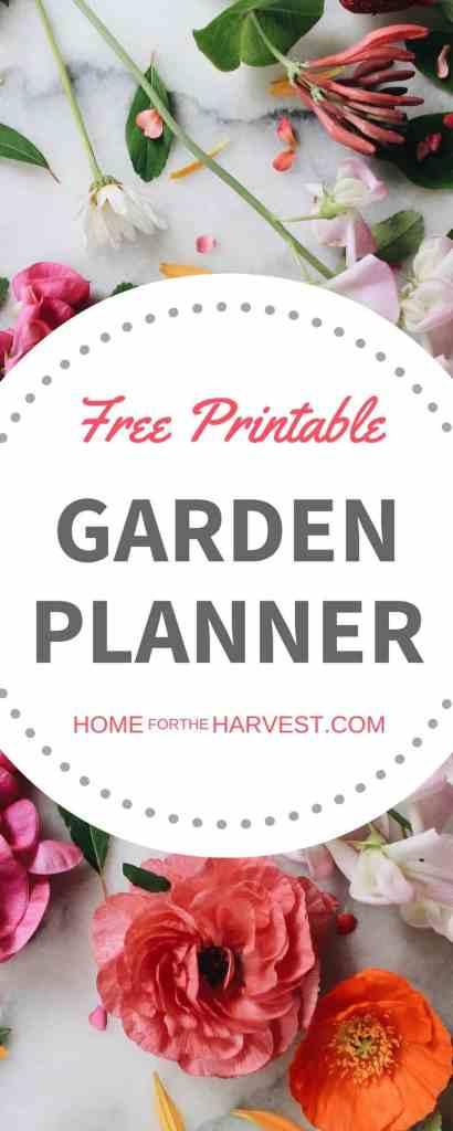 free gardening planner