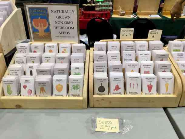 How to Shop for Seeds at Seedy Saturday Seed Swaps | Home for the Harvest