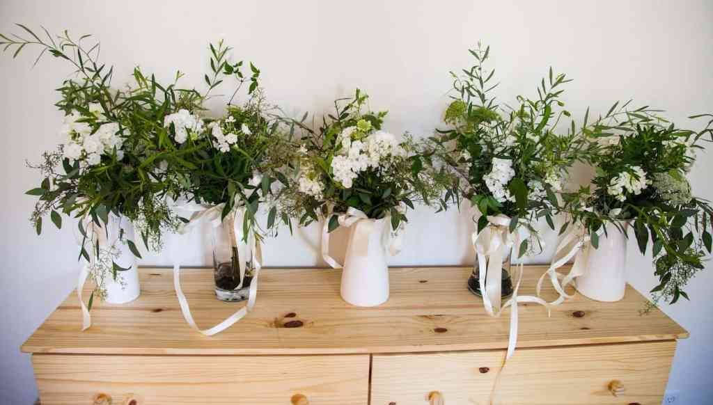 Garden Wedding Flowers | Home for the Harvest