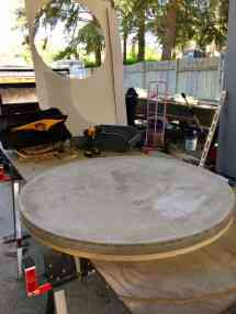 Concrete Dining Table Diy