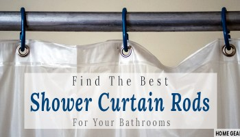 Find The Best Shower Curtain Rods For Your Bathrooms
