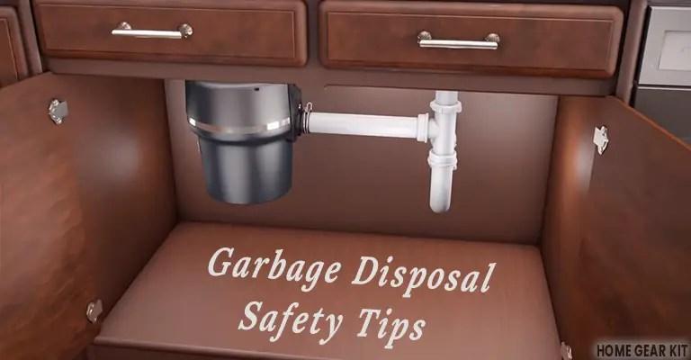 Garbage Disposal Safety Tips
