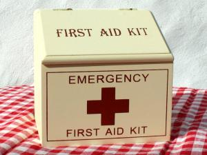 Retro first aid box from Daisy Park