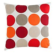 Ben de Lisi red polka dot cushion