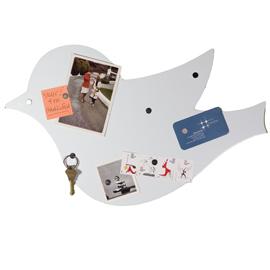 Magnetic bird shaped bulletin notice board