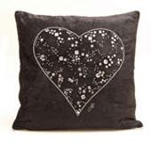 Jan Constantine Big Heart cushion