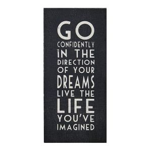 Dreams wall plaque from The Contemporary Home