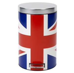 Brabantia Union Jack kitchen pedal bin