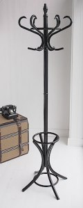 Traditional coat and hat stand from White Cottage Living