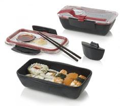 Black and Blum sushi lunchbox