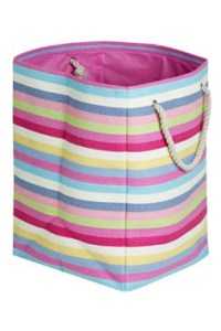 Next stripe woven home storage bag