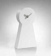Modern timepiece: Conran key mantle clock