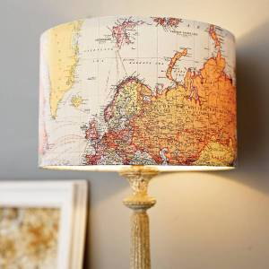 Handmade vintage lampshade from Not On The High Street