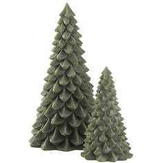 Christmas tree design candle decorations