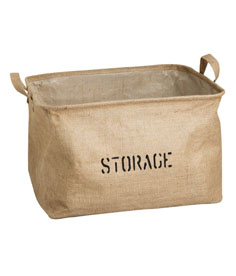 Get your hall organised with a jute storage basket