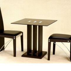 Small Breakfast Table And 2 Chairs Where To Buy Gaming Square Glass Dining In Black