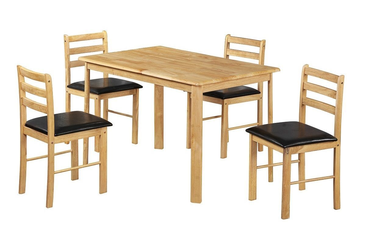 4 chair dining table designs steel gang wooden and chairs homegenies