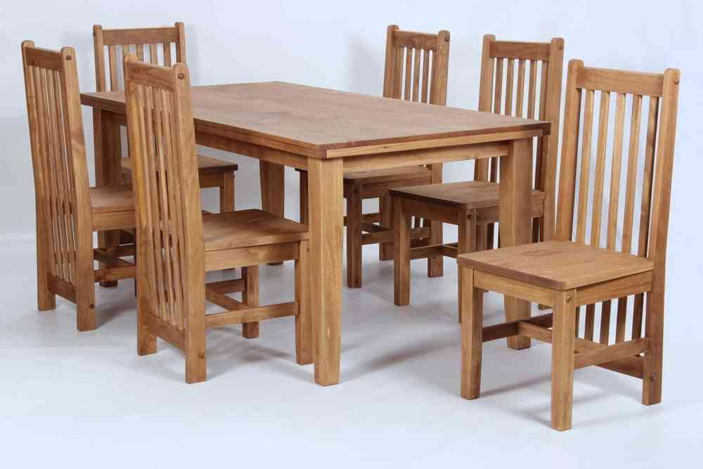kitchen table chairs set best appliances brand pine wooden dining and 6 homegenies