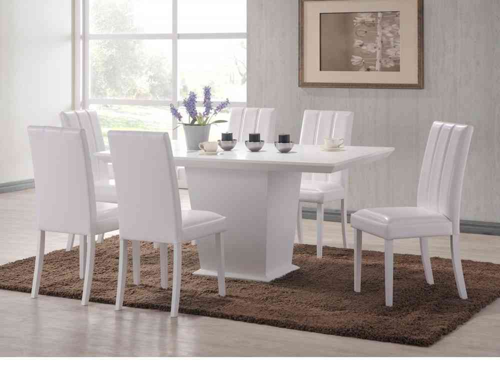 white 6 chair dining table camping 400 lbs capacity large wooden and chairs homegenies