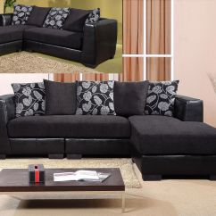 3 Seater Sofa Black Leather Durablend Reviews Chaise Suite Faux Fabric Homegenies