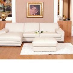 Cream Leather Sofa Set Uk Bespoke Sofas Long Eaton Chaise Corner Mix Black Brown Homegenies
