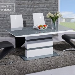 High Top Table With 6 Chairs Patio Chair Strap Repair Grey Glass White Gloss Dining And