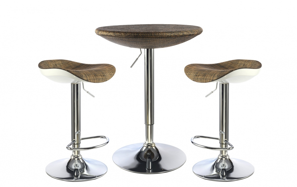 Breakfast Bar table and Stools set