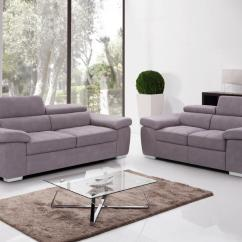 Beige Sofa Set 2 Seater Cushion Covers Fabric And 3 Homegenies