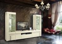 Italian Beige High Gloss Dining Room Furniture Set ...
