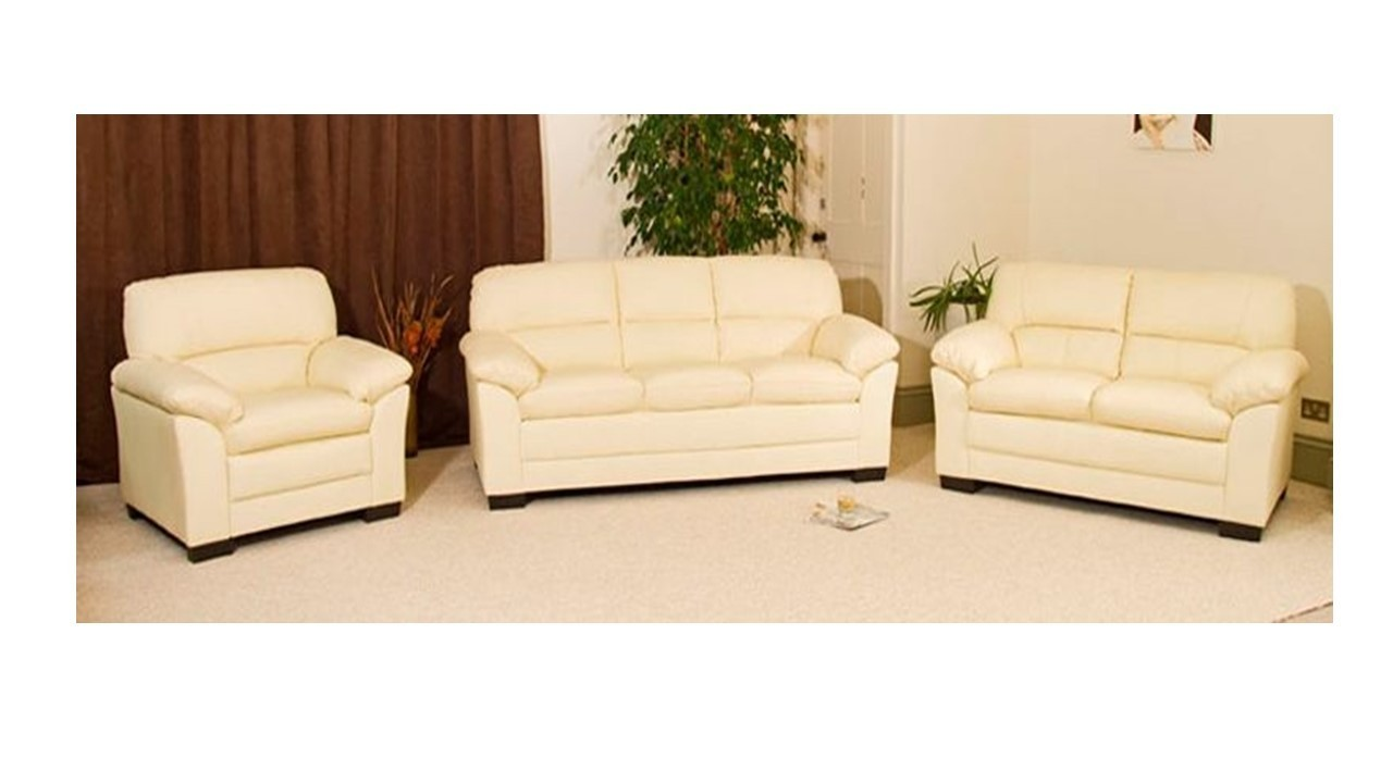 3 2 leather sofa set chalk paint 1 seater in black brown cream homegenies