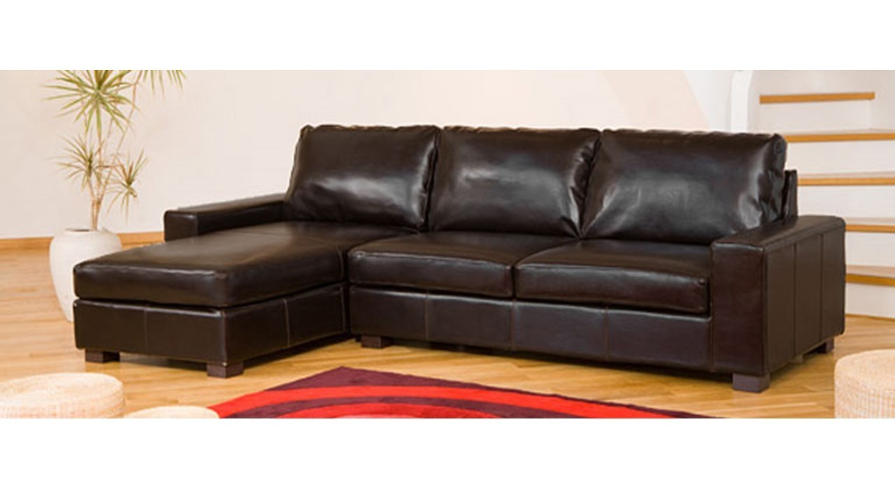 leather fabric mix sofas uk costco sectional sofa corner in black, brown, cream, red - homegenies