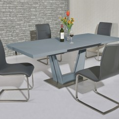 Grey Table And Chairs High Chair For Matt Glass Dining 8 Gloss