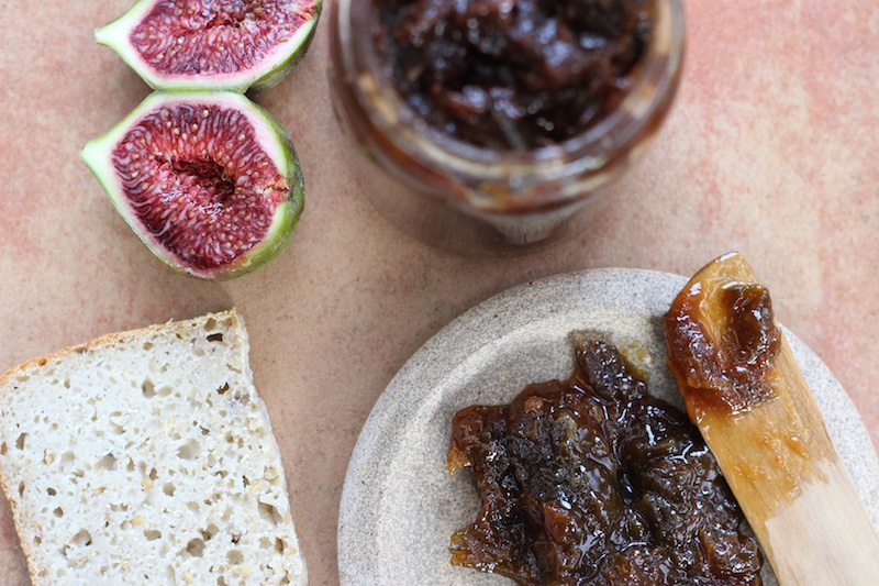 Slow-cooked Fig & Lemon Jam | Homegrown Kitchen by Nicola Galloway