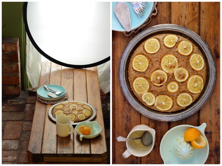 Lemon & Almond Syrup Cake / Homegrown Kitchen