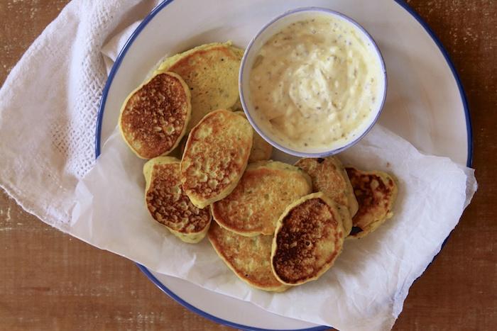 Sweet Corn & Pesto Nugget | HOMEGROWN KITCHEN
