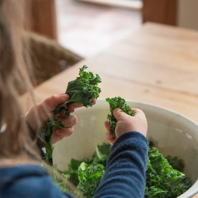 PERFECTED 'ALMOST RAW' KALE CHIPS