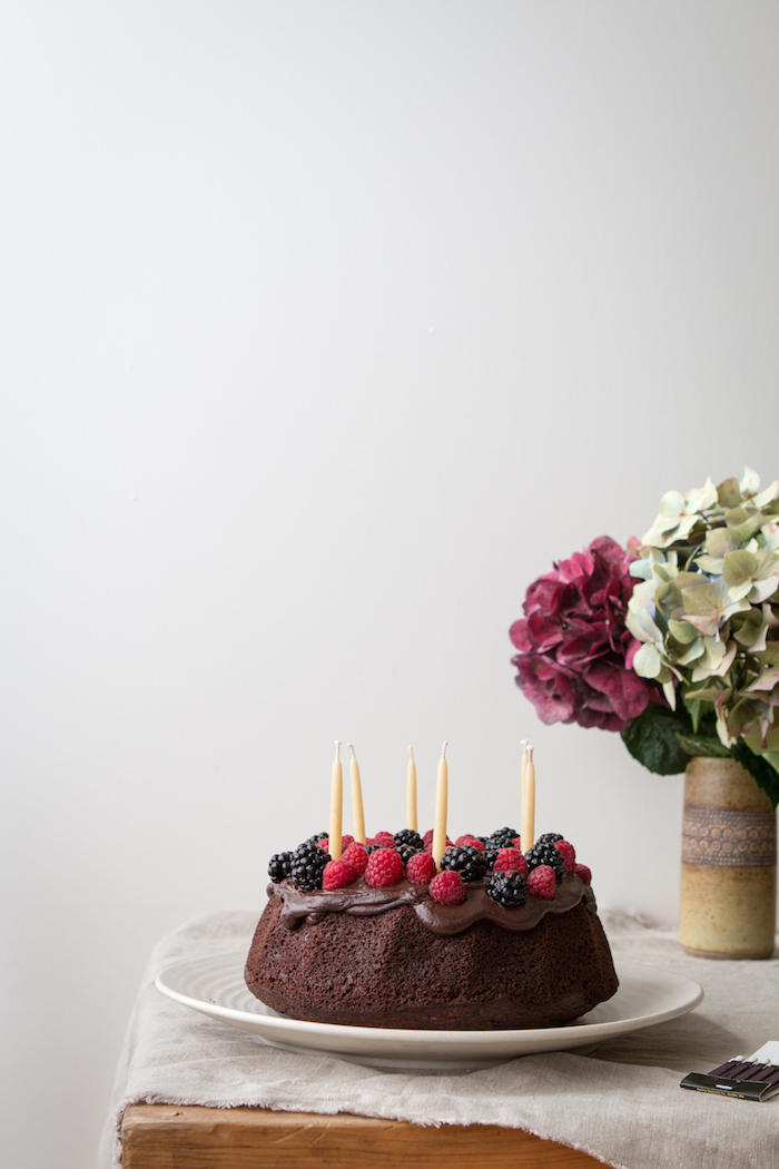 Chocolate Berry Walnut Cake   HOMEGROWN KITCHEN
