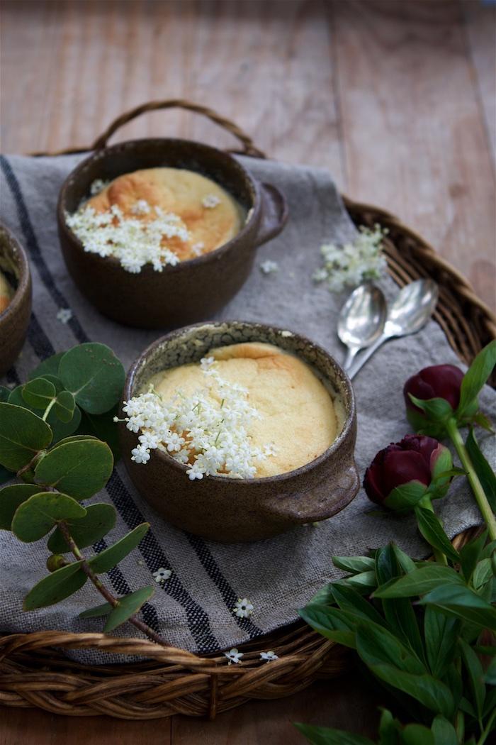 Lemon & Elderflower Honey Pudding | HOMEGROWN KITCHEN