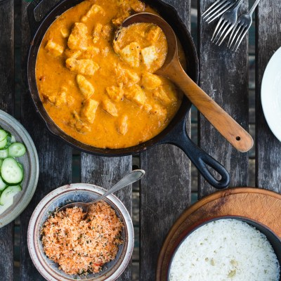 WEEKNIGHT CURRY + Homemade: Curry Paste