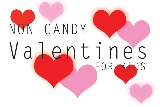 Non-Candy Valentines for Kids