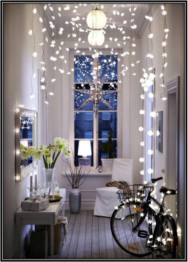 LED lights hanging