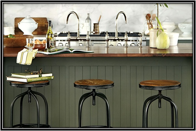 Modern Counter And Bar Stools