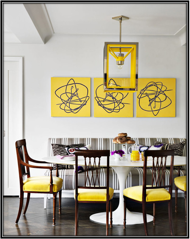 flashes of yellow in small things